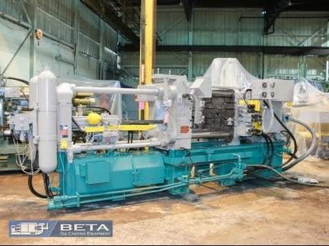 Used 340 Ton Buhler SC D 34 Cold Chamber Die Casting Machine 4256