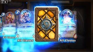 Lone Champion - Kobolds and Catacombs Hearthstone rare card pack opening