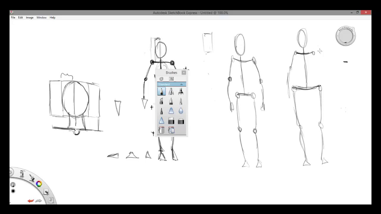 Anatomy And Figure Drawing For Beginners Stick Figure Lecture