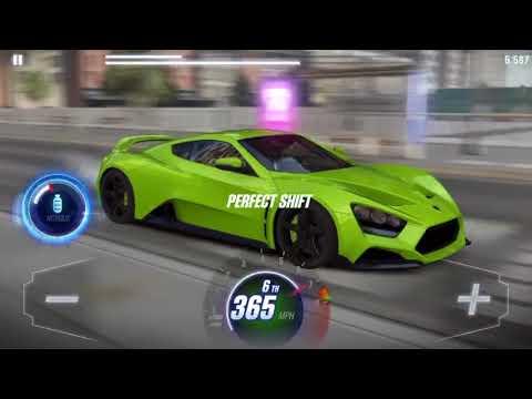 CSR Racing 2 Zenvo TS1 GT Maxed Tune/Pattern 7.32x
