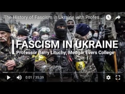 The History of Fascism in Ukraine with Professor Barry Lituchy (2015)