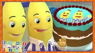 Let's BAKE Bananas | Cartoons for Kids | Bananas In Pyjamas