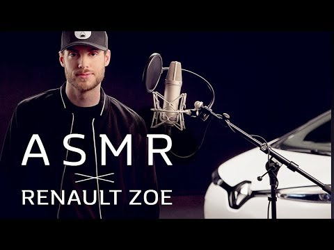 ASMR x RENAULT ZOE | A relaxing electric vehicle experience