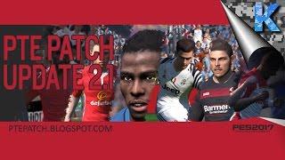 Cómo instalar el Parche PTE 2017 2.1 | Pro Evolution Soccer 2017 | K3lvin