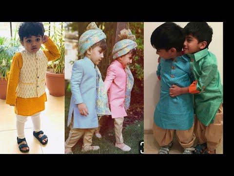 Cute Kids Kurta Pajama Designs || Traditional Dress Ideas For Little Boys