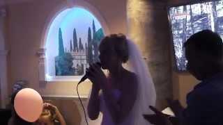 Жена читает реп мужу на свадьбе ( собственное сочинение)