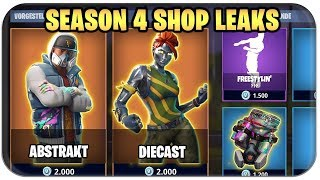 🕵️ ERSTEN SEASON 4 SKINS LEAKED | Fortnite Saison 4 Deutsch German