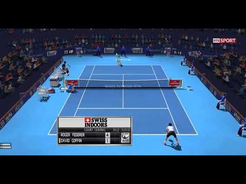 [ HD ] Roger Federer vs David Goffin Full Match | Basel Semi Final 2017 - 3D Animation