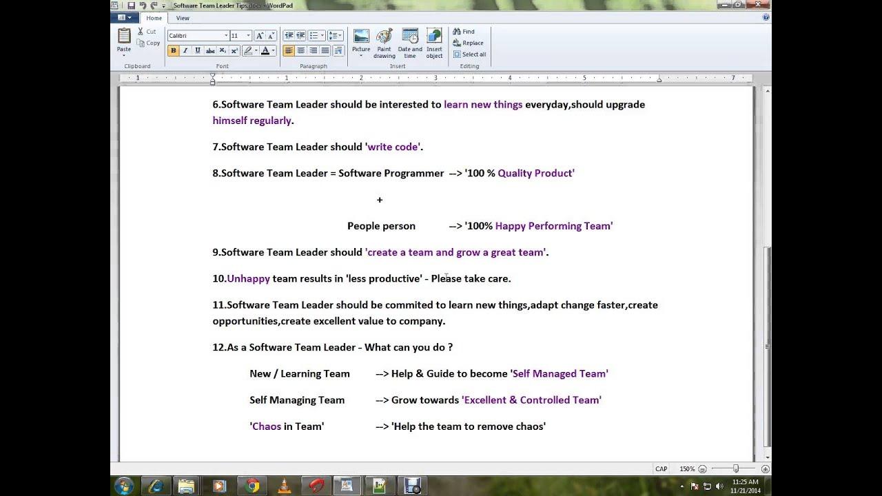 software team leader tips software team leader 12 tips