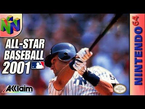 Longplay Of All-Star Baseball 2001