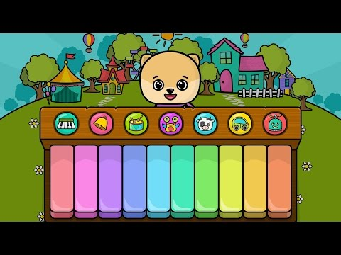 Piano for kids by Bimi Boo Educational Baby Game