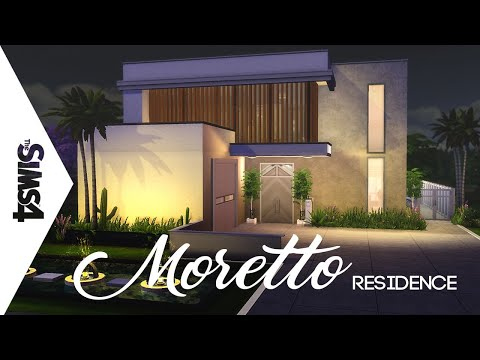 MORETTO RESIDENCE THE SIMS 4 BUILD (RESIDENCIA MORETTO THE SIMS 4)