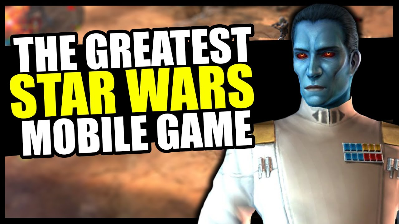 They Killed THE GREATEST Star Wars Mobile Game! (AND I'M STILL MAD)
