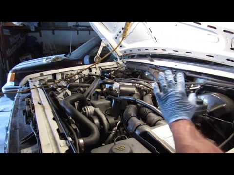 1987 Ford F150 inline 6 EFI rough idle and stalling problems fixed