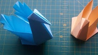 DIY Paper Crafts: How to Make an Origami Swan Box. Easy Tutorial