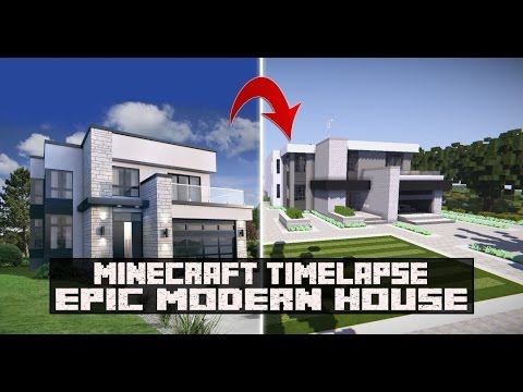 Epic Modern House Speed Build Timelapse SNC YouTube