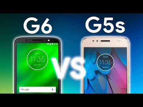 NUEVOS MOTO G6 y G6 Plus vs G5s y G5S Plus, ¿qué ha CAMBIADO?