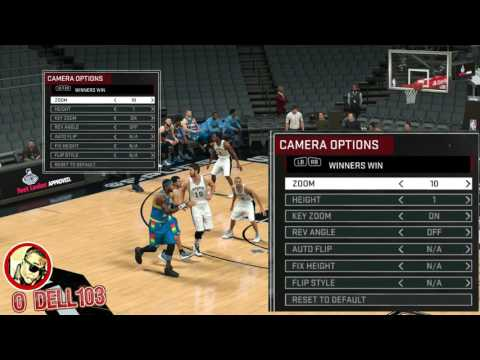 NBA 2K17 CHANGE CAMERA ANGLE SETTINGS | HOW TO | BEST CAM TO PLAY ON | MYPARK