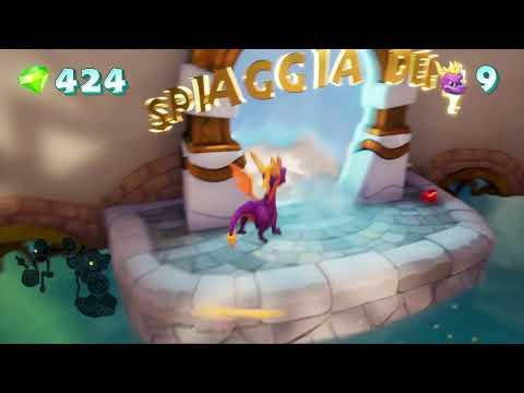 Spyro Reignited Trilogy ocean speedway