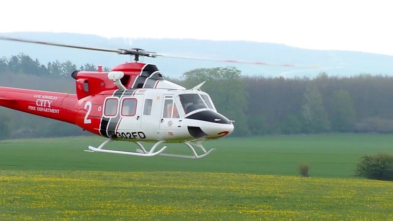 Bell 412 Roban Scaleflying