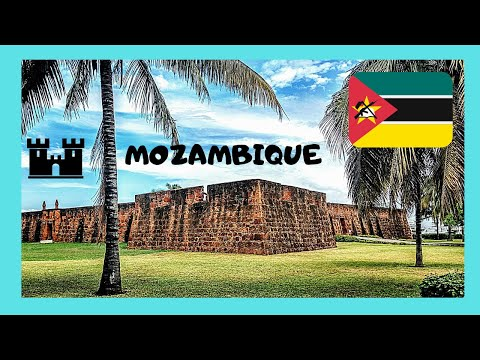 MOZAMBIQUE: Maputo 🏰, the historic Portuguese Fort (Fortalez