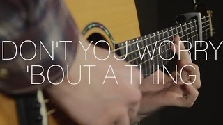 Stevie Wonder - Don't You Worry 'Bout A Thing - Fingerstyle Guitar Cover By James Bartholomew