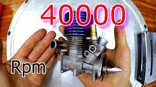 ДВС 40000 об/мин KYOSHO GX-21 - это нереально