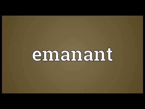 Header of emanant