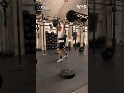 The Nationals 2019 - Wod 1B
