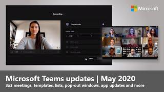 Microsoft Teams Updates | May 2020 and Beyond