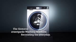 De nieuwe Siemens avantgarde wasmachine en droger