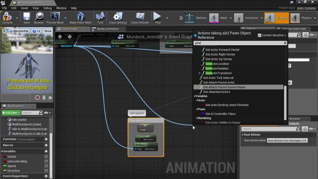 Ue4 creating a character from scratch part 1 blueprint setup ue4 creating a character from scratch part 1 blueprint setup animblueprint blendspace malvernweather Choice Image