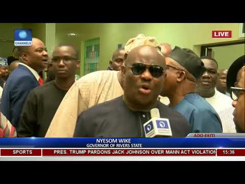 Commissioning Of Ekiti State High Court & Governor's Office Pt 10
