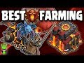 BEST TH10 CHAMPS LEAGUE FARMING! - GAIN DE & GOLD FAST! - Clash of Clans - TH10 LavaLoonion Farming