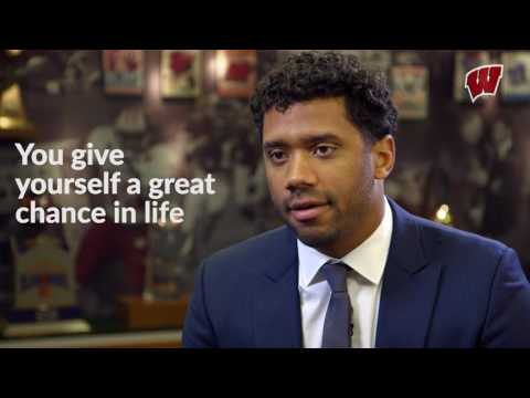 Why Wisconsin, by Russell Wilson