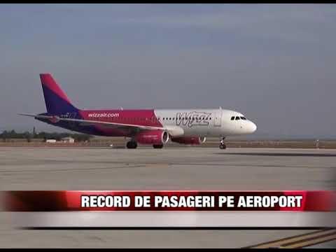Record de pasageri pe aeroport
