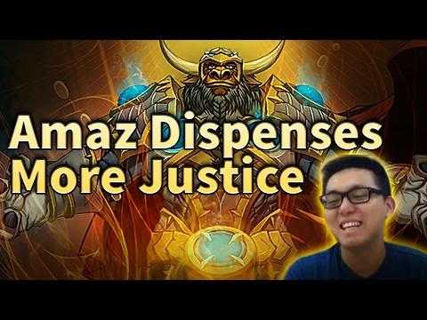 Amaz Dispenses More Justice