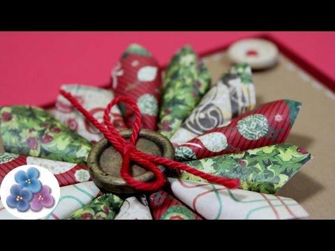 Como hacer tarjetas de navidad con recortes tarjetas - Tarjetas de navidad manuales ...