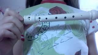 Игра на блок флейте урок 2