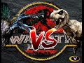 T-REX VS SPINO! REMATCH???? | WARPATH - JURASSIC PARK PS1 (DINOSAUR GAMES) | Carlos1416