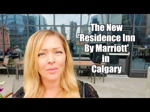 Inside The New Residence Inn By Marriott Hotel In Calgary