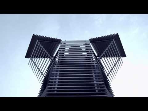 Daan Roosegaarde's Smog Free Tower opens in Rotterdam