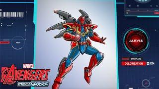 Mech Strike DRAW! - Captain Marvel   NEU auf Marvel HeadQuarter Deutschland