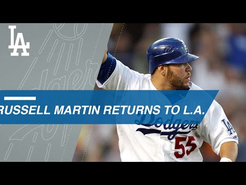 Russell Martin's top moments with the Dodgers