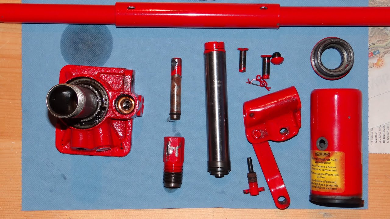 Disassembling of a Hydraulic Jack [How to]