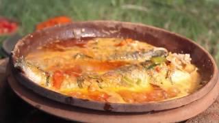 Индийская еда. Рыба приготовленная с Кари.