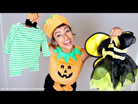 Thumbnail: TRYING ON BABY COSTUMES!! HALLOWEEN FETUS.