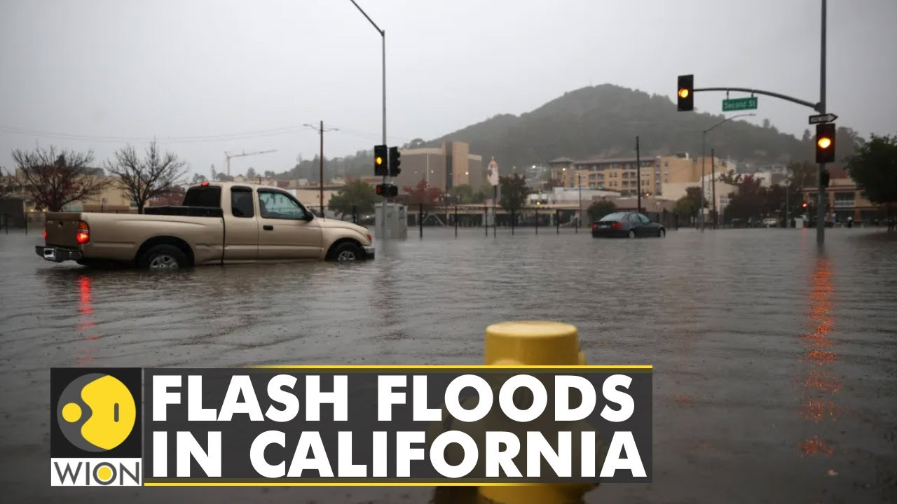 Download Flash floods drench parts of northern California   Latest English News   World News   WION