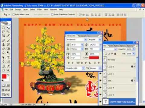 Lop thiet ke album-Thiet ke lich treo tuong (4) HocPhotoshop.Com