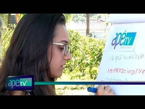 ApêTV - Como vai seu Português? 24/02/18